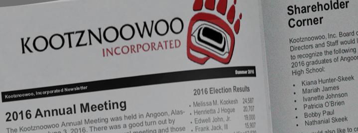Kootznoowoo News 2016