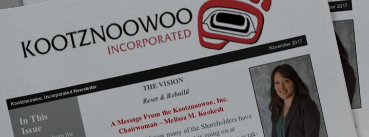 Kootznoowoo News 2017