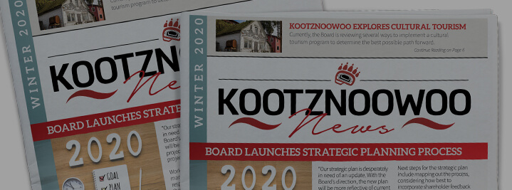 Kootznoowoo 2020 News Winter